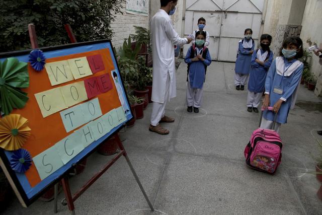 巴基斯坦小学复课-第1张