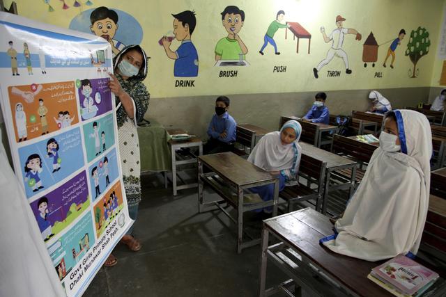 巴基斯坦小学复课-第11张