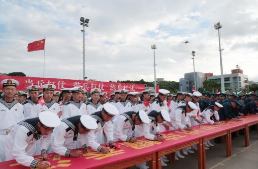 五星红旗,你是我的骄傲——驻香港部队举行国庆节升国旗仪式见闻-第4张
