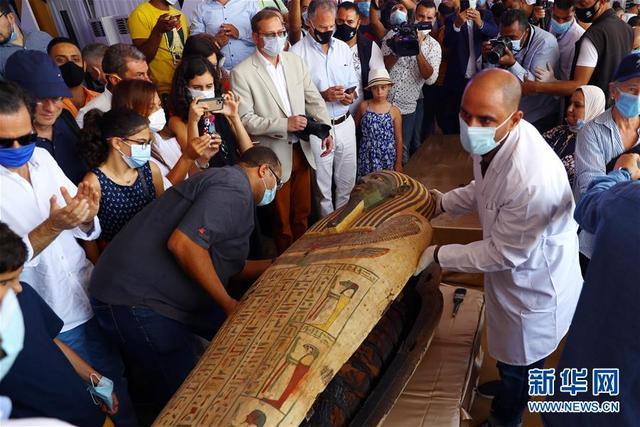 埃及出土59具2500年前的木棺【www.smxdc.net】 全球新闻风头榜 第3张