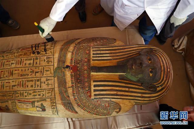 埃及出土59具2500年前的木棺【www.smxdc.net】 全球新闻风头榜 第4张
