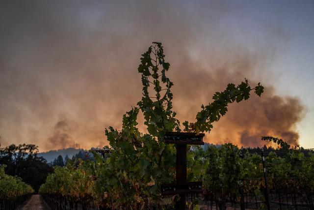 加州山火持续燃烧
