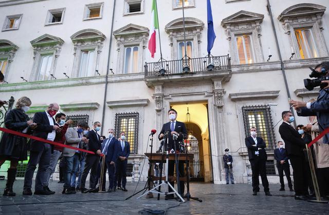 意大利再次加强疫情防控 紧急状态延至明年初