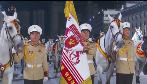 朝鲜凌晨在金日成广场举行阅兵式 金正恩出席 全球新闻风头榜 第2张
