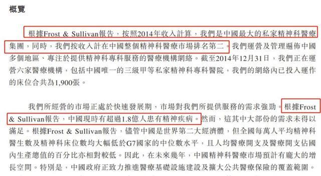 曾称中国有1.8亿人患精神疾病,这家民营医院再次冲击A股