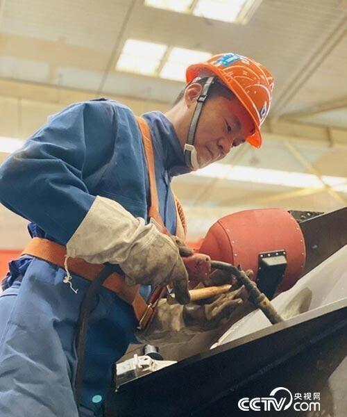 张怀红:用40万米焊道铸就闪光匠心