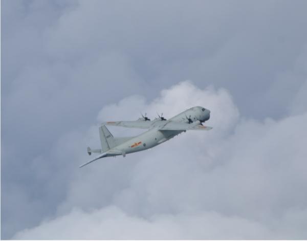 10月最后一天,解放军军机进入台湾西南空域
