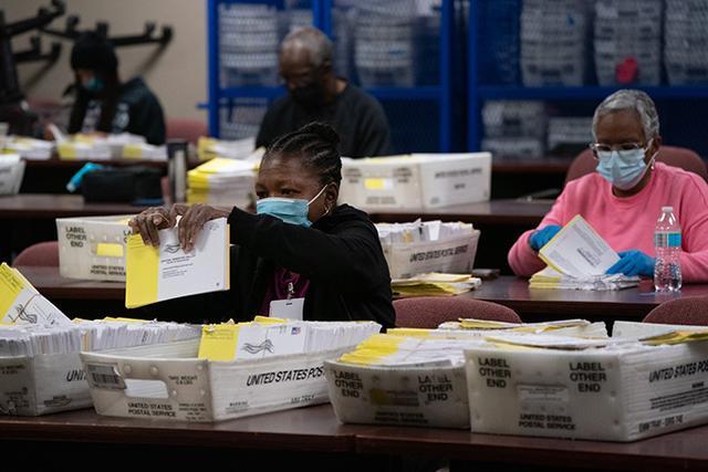 美联社:拜登在佐治亚州的得票率追平特朗普 全球新闻风头榜 第1张