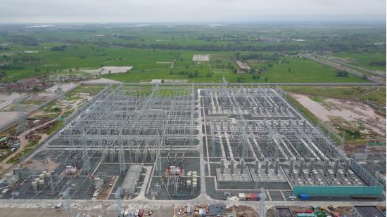 中巴经济走廊重点项目巴基斯坦默拉直流输电工程全线贯通