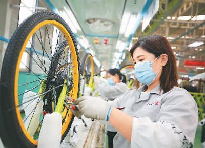 自行车行业年收入将破3600亿元