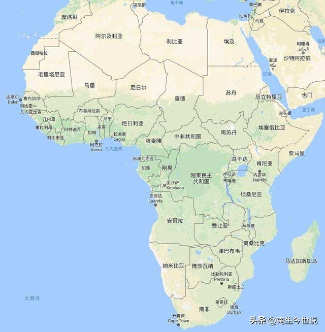 仅两国人均超过1万美元,2019年非洲人均GDP前十国家分享