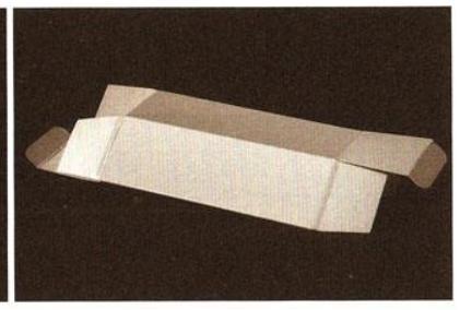 包装纸盒结构类型之——间壁结构,盒底结构和锁口结构(图3)