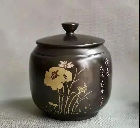 紫陶罐上的装饰——春夏秋冬 紫陶特点-第3张
