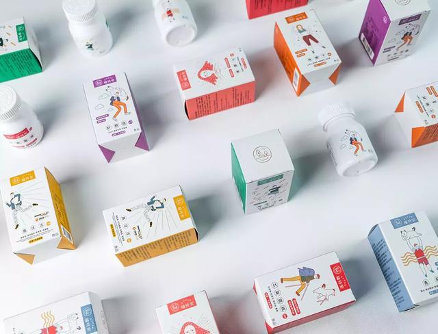 来自台湾的ZTUAN保健品包装设计(图2)