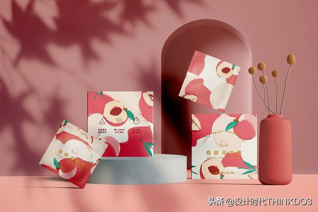 两款清新时尚风格的花茶包装设计,简直不要太美(图10)
