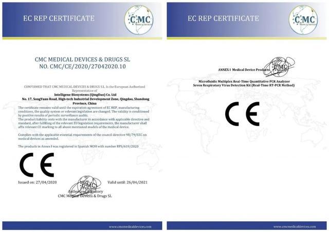 投后动态 | 融智生物两产品获欧盟CE认证-今日股票_股票分析_股票吧