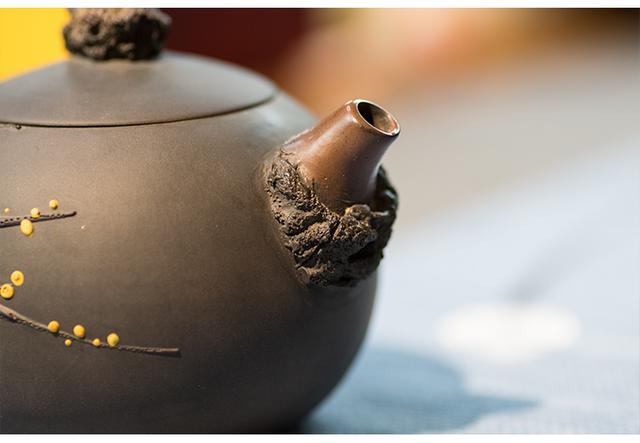 「枯木逢春」建水紫陶壶精品之作 紫陶介绍-第6张