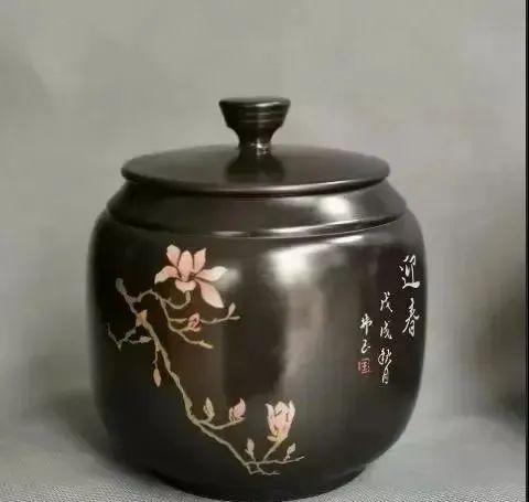 紫陶罐上的装饰——春夏秋冬 紫陶特点-第2张