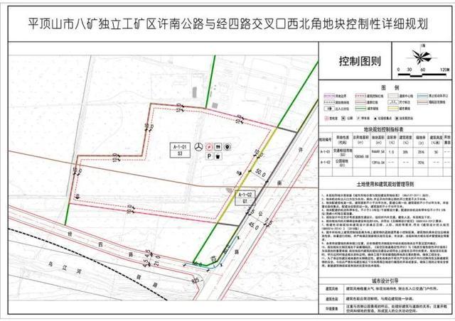 平顶山八矿附近两则地块规划出炉:将建21亩公园绿地插图1