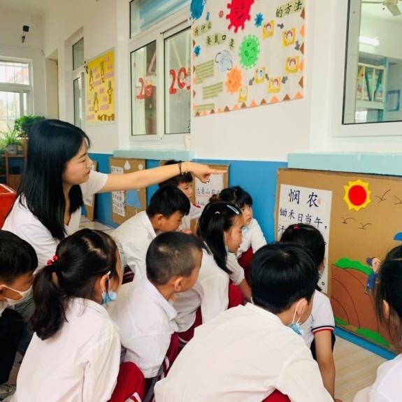 """勺湖幼儿园开学第一课开展""""节约粮食从我做起""""主题教育活动"""