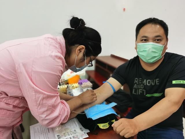 淮安公路人用行动捐热血