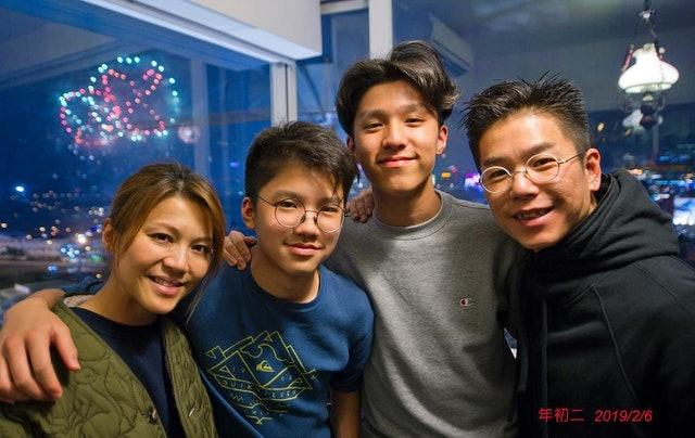 林曉峰與前女友潘菁華拍拖12年對方毀容兩年後與康子妮奉子成婚