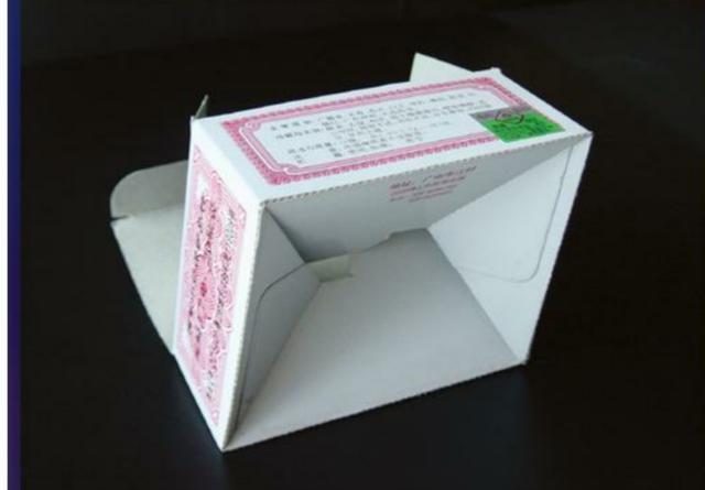 包装纸盒结构类型之——间壁结构,盒底结构和锁口结构(图7)