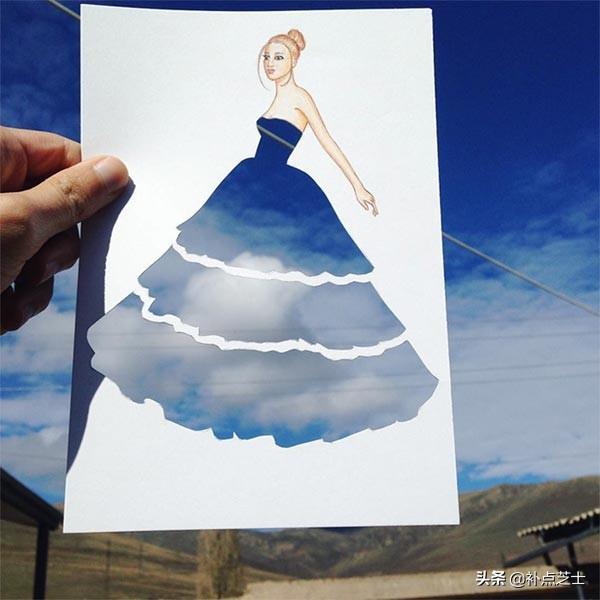 俯拾皆是服饰的灵感,与日常用品完美结合的时尚服饰拼贴艺术-第8张