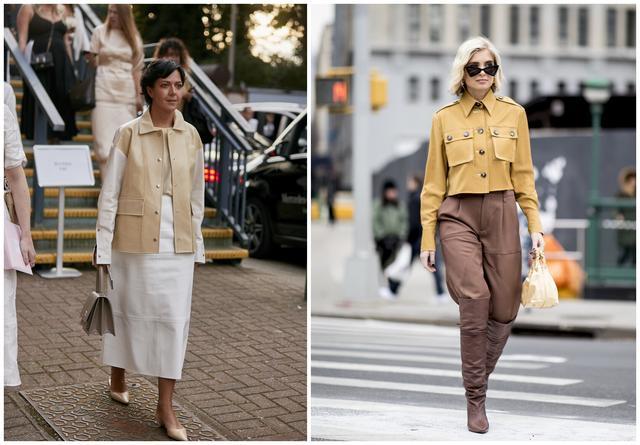 秋季想要穿出新鲜感,不如换件工装夹克,气质丰富款式还多样-第4张