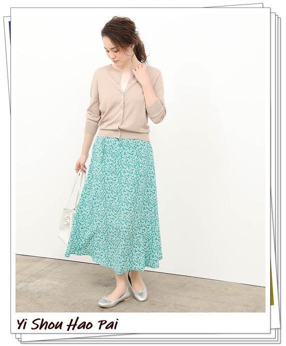 米色开衫的秋季搭配精选!24种你值得尝试的优雅穿搭-第14张
