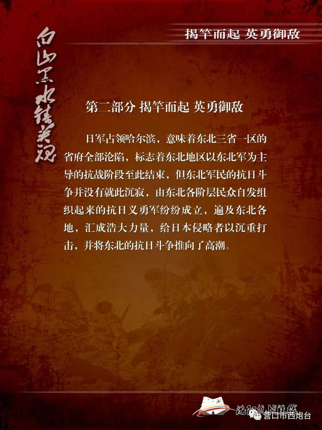 白山黑水铸英魂 ——东北军民14年抗战史实展-第4张