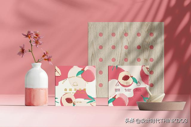 两款清新时尚风格的花茶包装设计,简直不要太美(图3)
