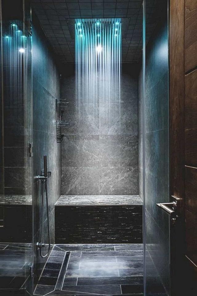 现代浴室淋浴设计鉴赏,一个属于自己的私人天堂