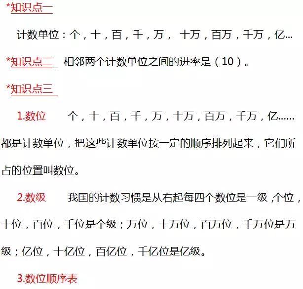 北师大四年级数学上册第一单元《人口普查》1.3