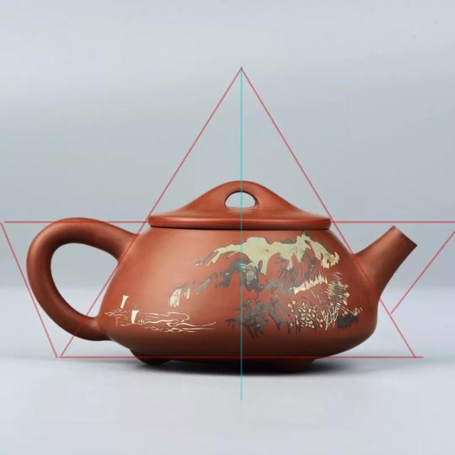 建水紫陶壶中的几何美学 紫陶特点-第4张