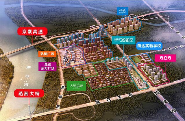 燕郊新商圈兴起背后:北三县已告别管控引导的发展模式
