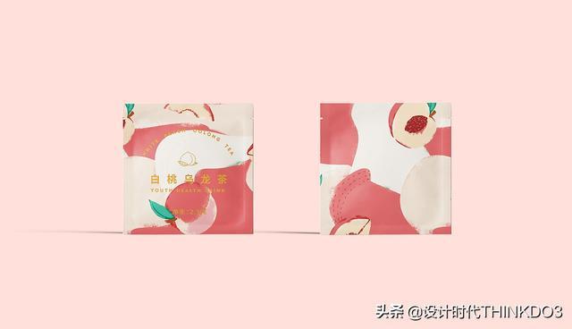 两款清新时尚风格的花茶包装设计,简直不要太美(图6)