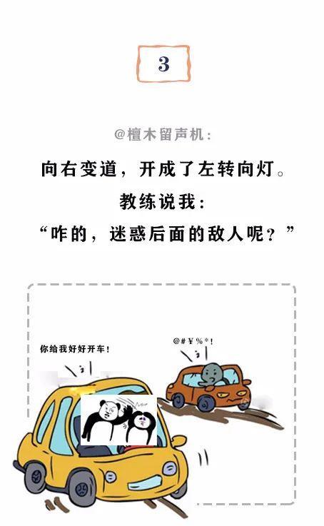"""第一次学车是什么体验?""""教练我不想学车了,你教我骂人吧!""""插图(6)"""