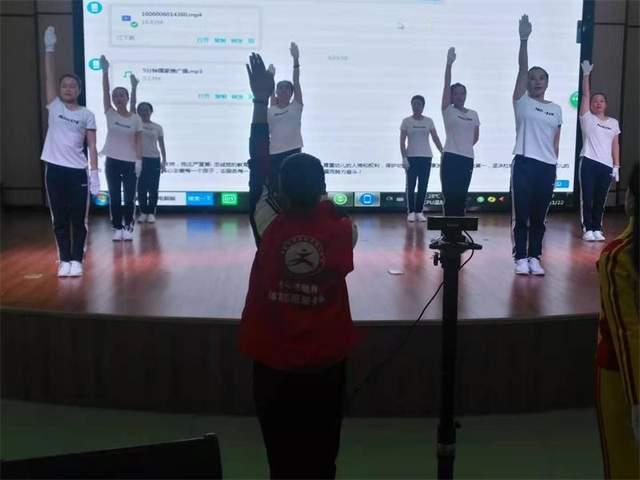 运动促健康_比赛展风采——曲塘镇成功举办全民健身运动会网络赛