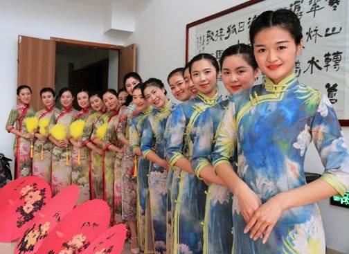 走访江苏旗袍学院,感受独特旗袍魅力