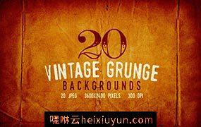 20个复古的背景纹理素材 20 Vintage Subtle Grunge Backgrounds #325566