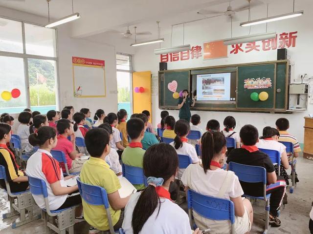 开学第一课 福建国药东南医院援鄂护士走进双亭小学