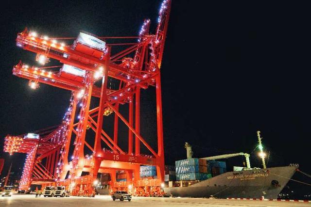 智慧港口:深圳妈湾港将成为传统码头智能化升级的典范