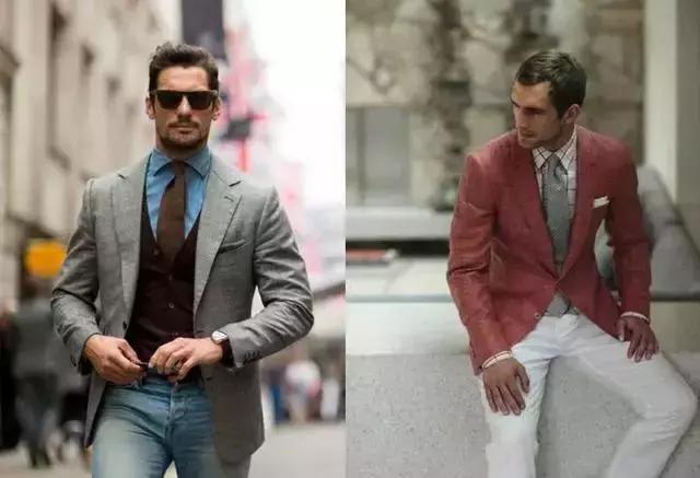 男士穿搭:牛津衬衫西装搭配技巧