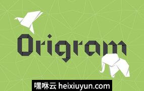 绿色背景封面Origram Pro Typefamily #124039