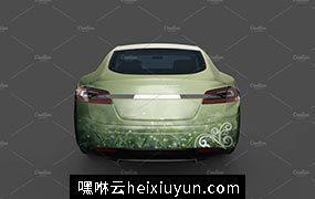 新能源充电汽车样机模板 Electric Car Mock Up #922056