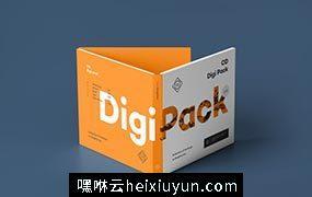 时尚高端逼真质感的专业房地产VI光盘cd digi pack #365921