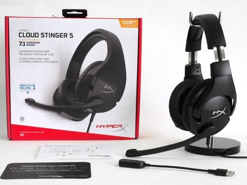 开箱7.1立体声游戏耳机 HyperX Cloud Stinger S毒刺加强版