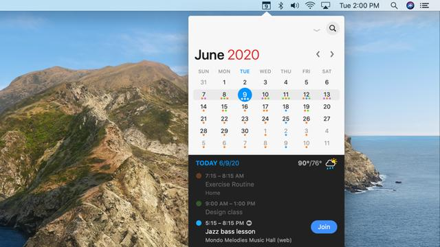 macOS必备软件之高颜值日历「Fantastical」 Mac软件教程 第4张