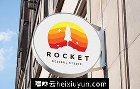 火箭创意思LOGO模板 Rocket Logo #904843